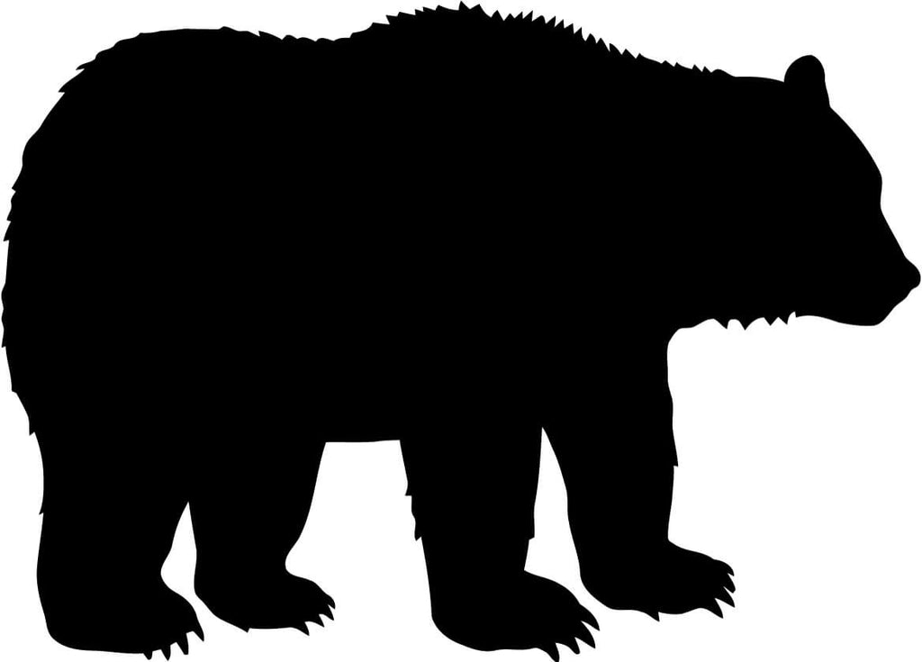 Bear Vinyl Car Window Laptop Decal Sticker