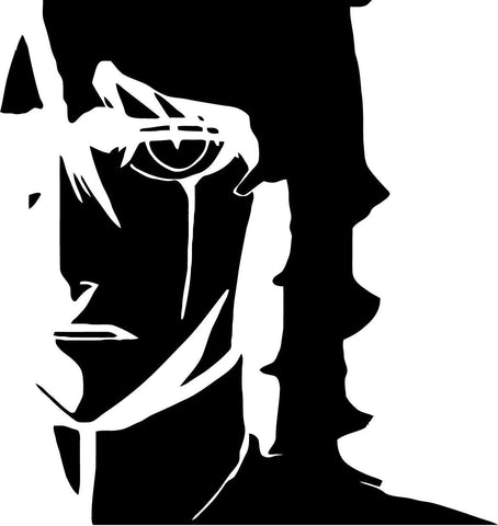 Bleach Ulquiorra Vinyl Car Window Laptop Decal Sticker