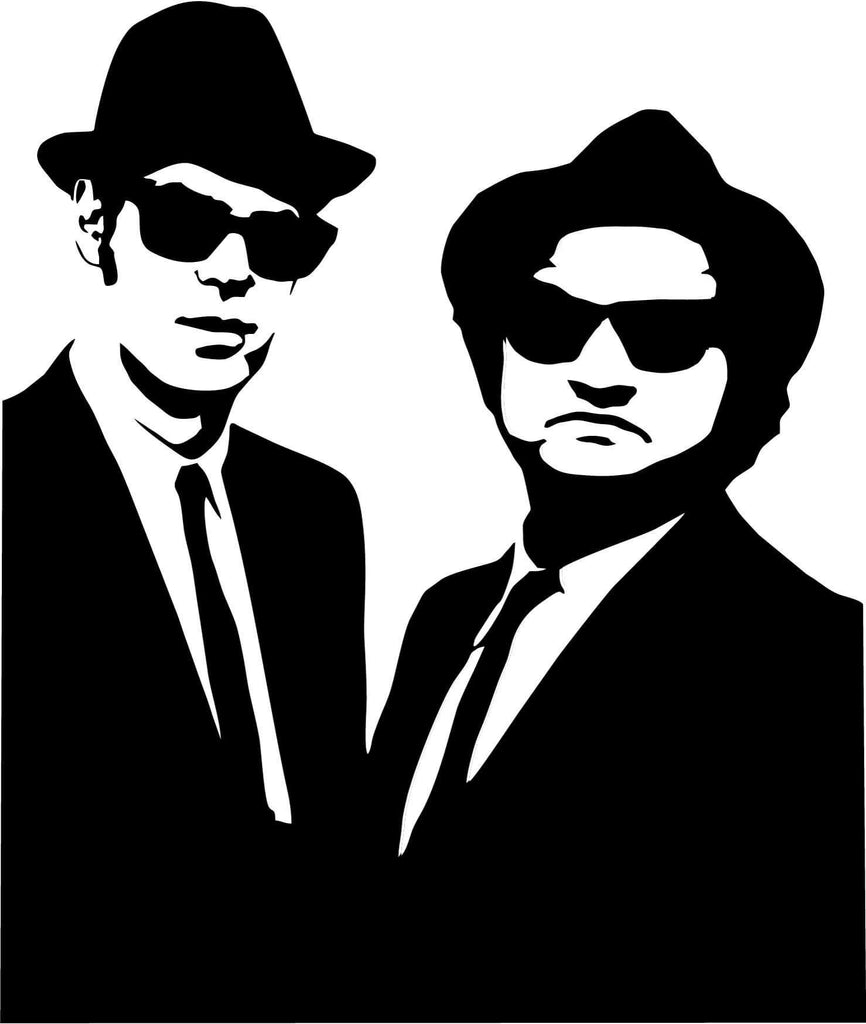 Blues Brothers - Vinyl Car Window and Laptop Decal Sticker - Decal - Car and Laptop Window Decal Sticker - 1