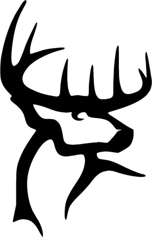 Buck Commander - Deer - Vinyl Car Window and Laptop Decal Sticker