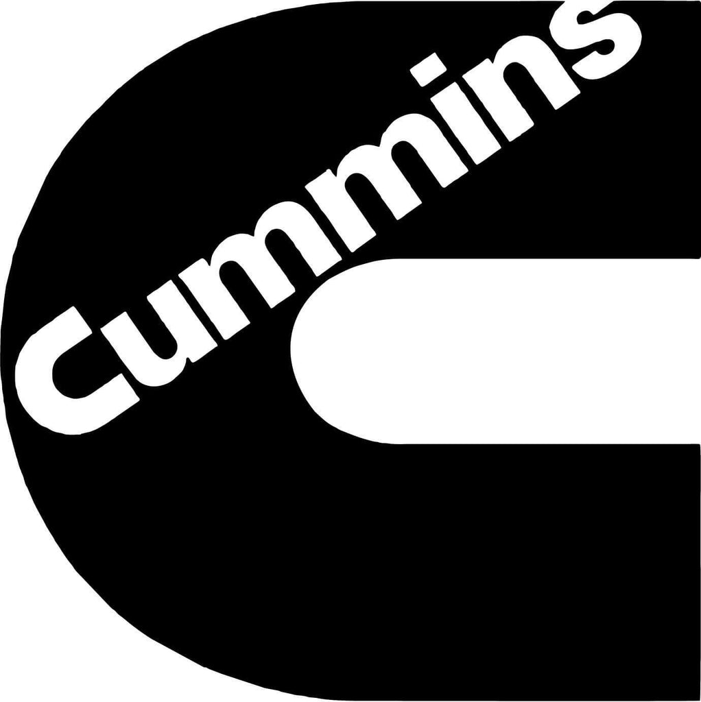 Cummins - Vinyl Car Window and Laptop Decal Sticker - Decal - Car and Laptop Window Decal Sticker - 1