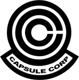 DBZ Dragon Ball Z - Capsule Corp - Vinyl Car Window and Laptop Decal Sticker - Decal - Car and Laptop Window Decal Sticker - 1