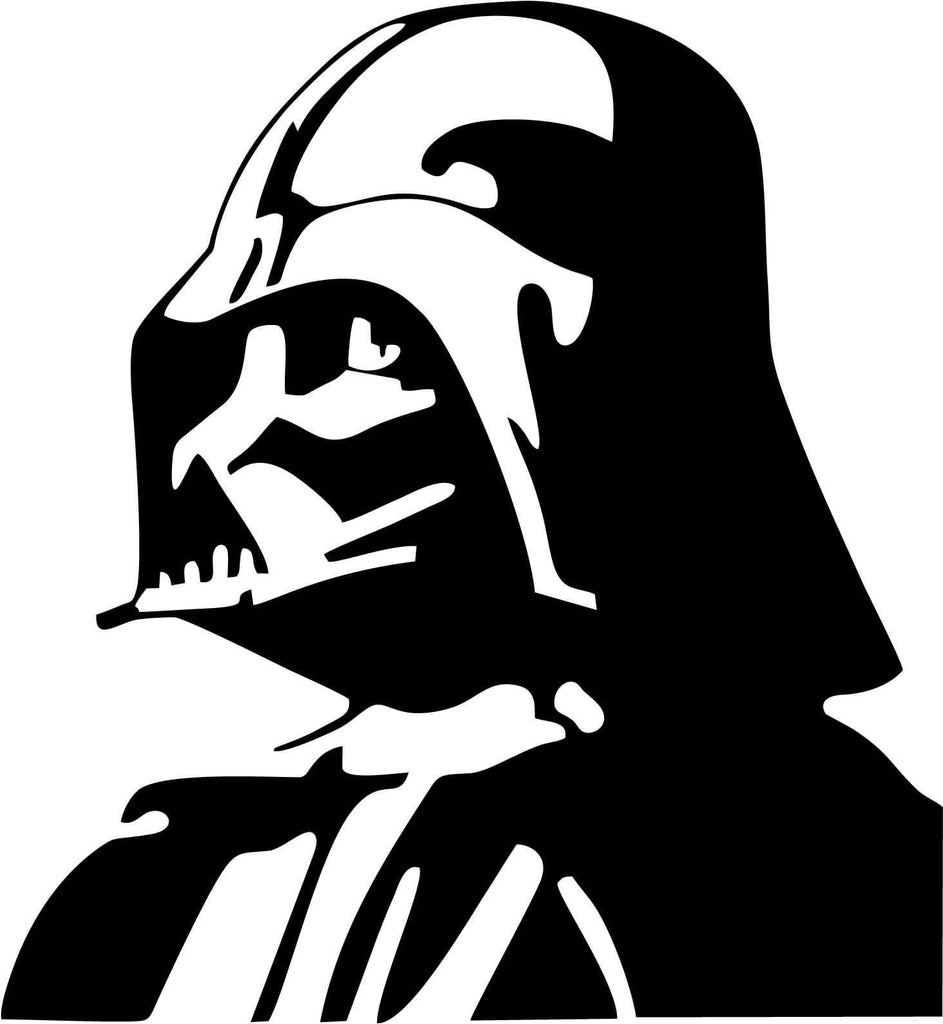 Darth Vader - Vinyl Car Window and Laptop Decal Sticker - Decal - Car and Laptop Window Decal Sticker - 1