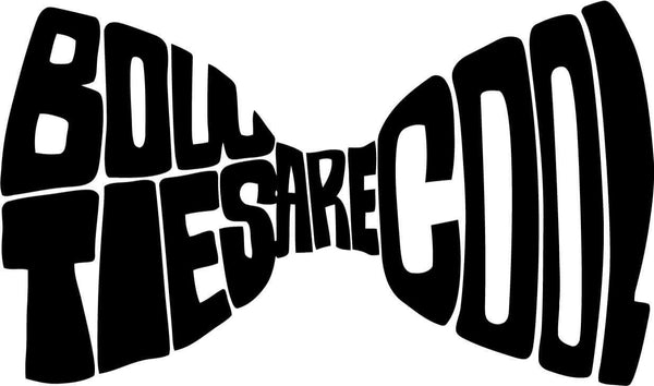 doctor who bow ties are cool vinyl car window laptop decal sticker