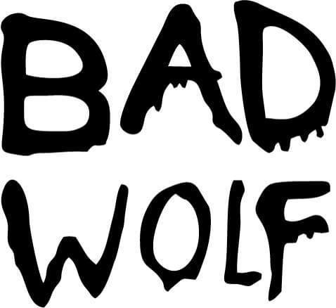 Doctor Who Bad Wolf Vinyl Car Window Laptop Decal Sticker