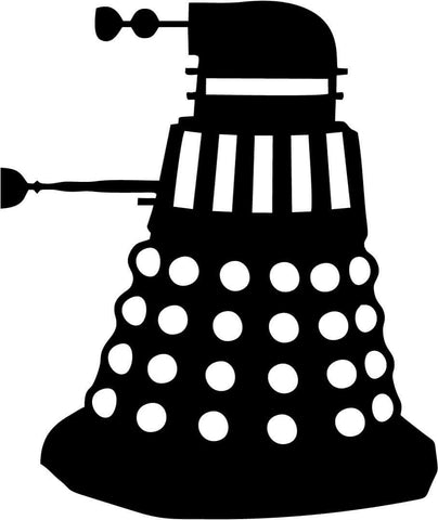 Doctor Who - Dalek Side - Vinyl Car Window and Laptop Decal Sticker