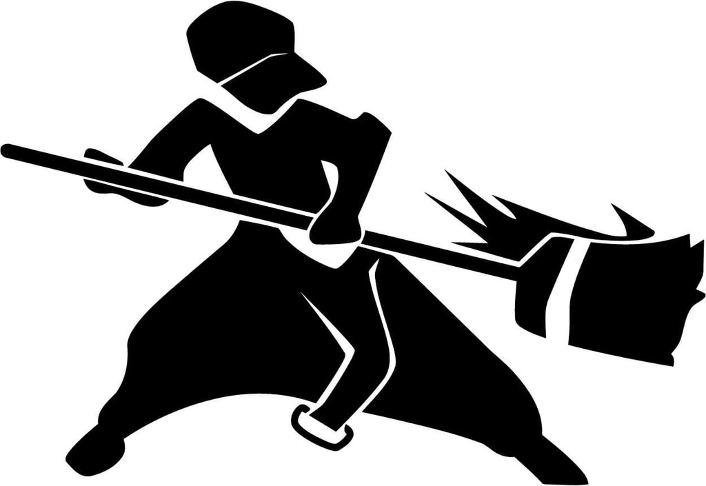 Dustforce Dustman Vinyl Car Window Laptop Decal Sticker