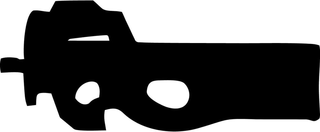 FS90 Gun - Vinyl Car Window and Laptop Decal Sticker - Decal - Car and Laptop Window Decal Sticker - 1
