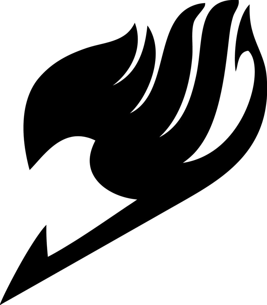 Fairy Tail Logo Vinyl Car Window Laptop Decal Sticker