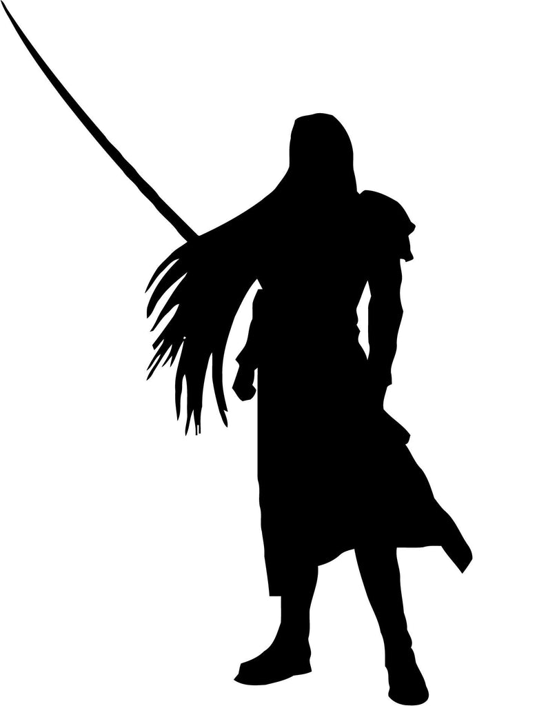 Final Fantasy Sephiroth Vinyl Car Window Laptop Decal Sticker