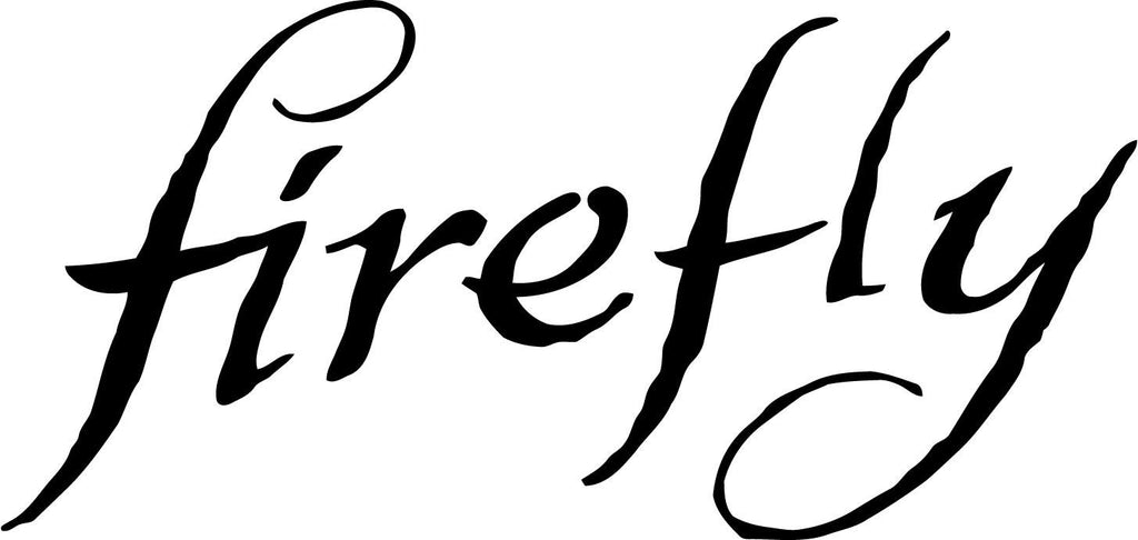 Firefly LOGO Serenity   Sci-Fi Fantasy Joss Whedon Browncoats - Vinyl Car Window and Laptop Decal Sticker - Decal - Car and Laptop Window Decal Sticker - 1