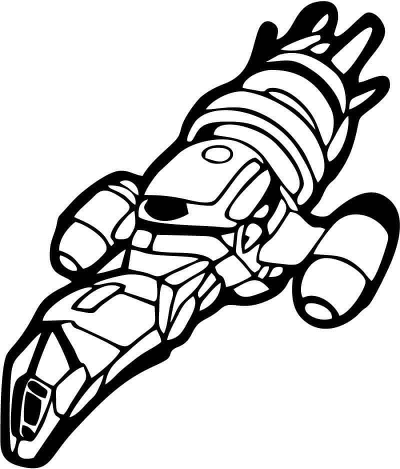 Firefly - Serenity Ship - Vinyl Car Window and Laptop Decal Sticker - Decal - Car and Laptop Window Decal Sticker - 1