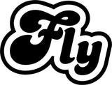 Fly - Funny JDM - Vinyl Car Window and Laptop Decal Sticker - Decal - Car and Laptop Window Decal Sticker - 1