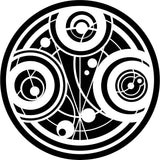 Gallifrey Time Lord Seal Of Prydonian From Doctor Who Car Window Decal Sticker