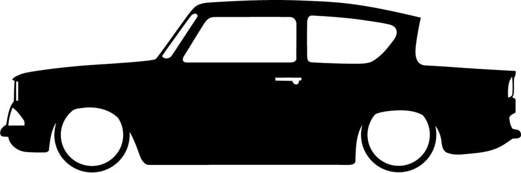 Harry Potter Ford Anglia Vinyl Car Window Laptop Decal Sticker