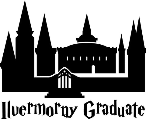 Harry Potter - Ilvermorny Graduate - Vinyl Car Window and Laptop Decal Sticker