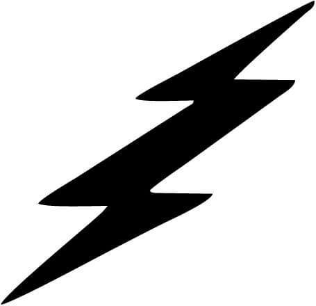 Harry Potter - Lightning Bolt - Vinyl Car Window and Laptop Decal Sticker - Decal - Car and Laptop Window Decal Sticker - 1