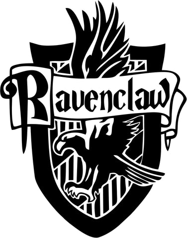 Harry Potter - Ravenclaw House - Vinyl Car Window and Laptop Decal Sticker