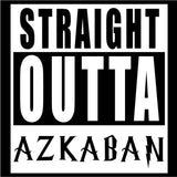 Harry Potter Straight Outta Azkaban Vinyl Car Window Laptop Decal Sticker
