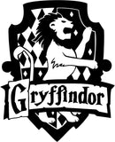 Harry Potter - Gryffindor House - Vinyl Car Window and Laptop Decal Sticker - Decal - Car and Laptop Window Decal Sticker - 1