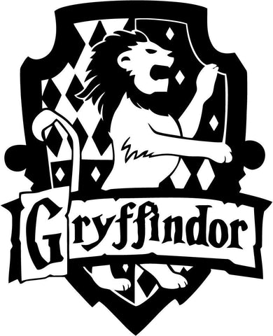 Harry Potter - Gryffindor House - Vinyl Car Window and Laptop Decal Sticker