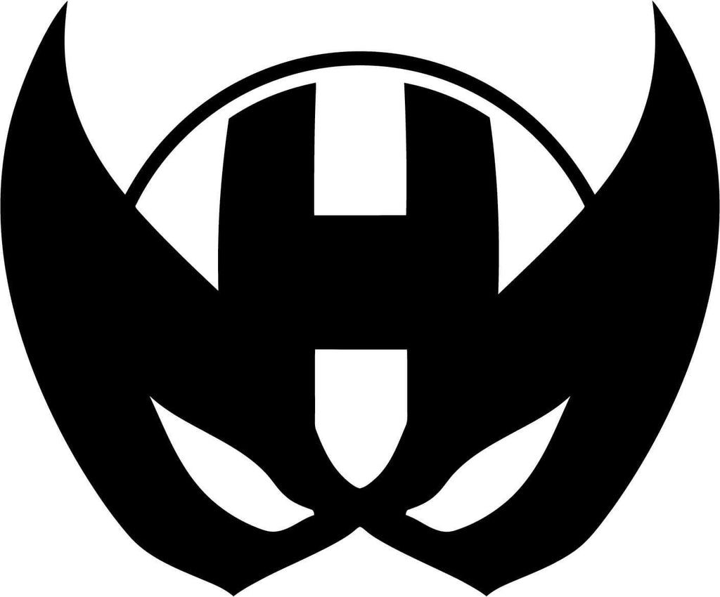Hawkeye Mask Emblem - Vinyl Car Window and Laptop Decal Sticker - Decal - Car and Laptop Window Decal Sticker - 1