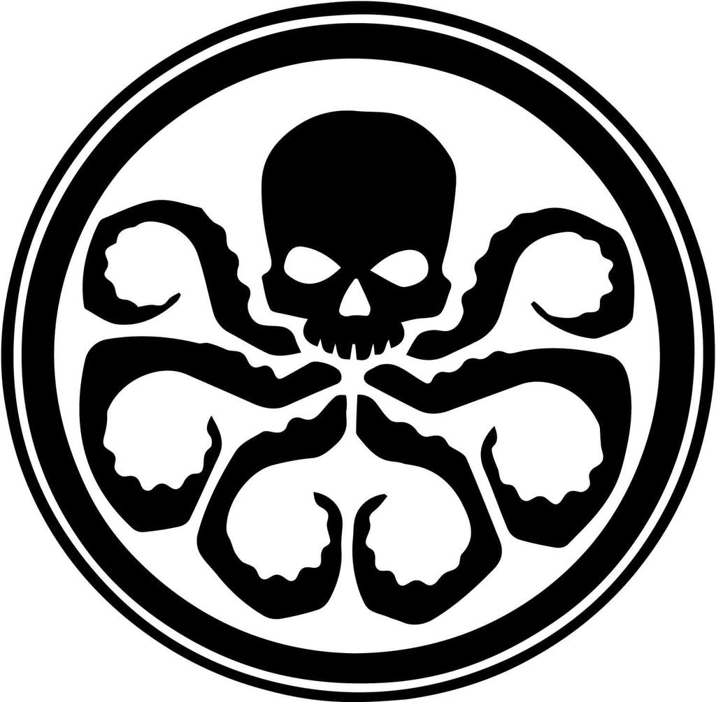 Hydra Symbol Vinyl Car Window Laptop Decal Sticker