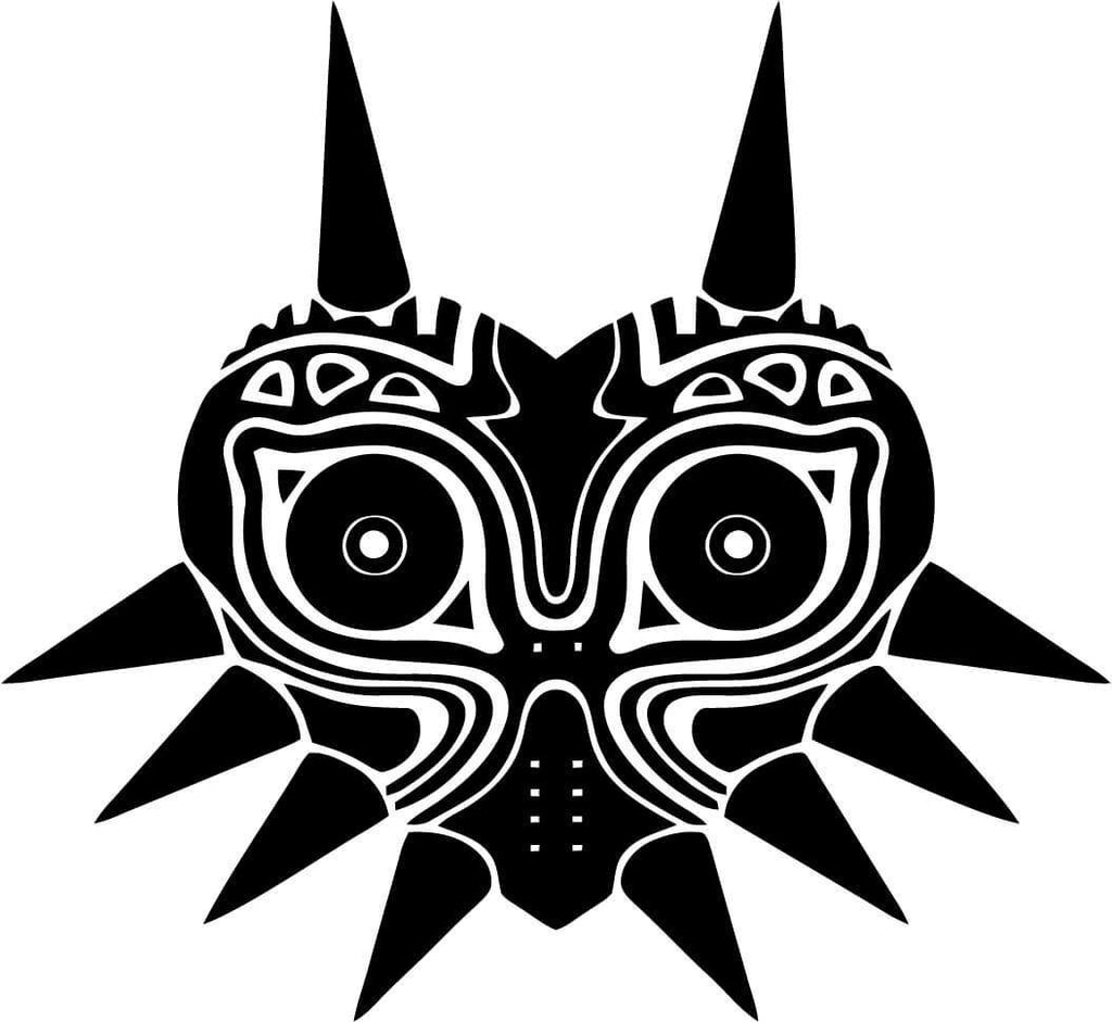 Legend of Zelda - Majora's Mask - Vinyl Car Window and Laptop Decal Sticker - Decal - Car and Laptop Window Decal Sticker - 1