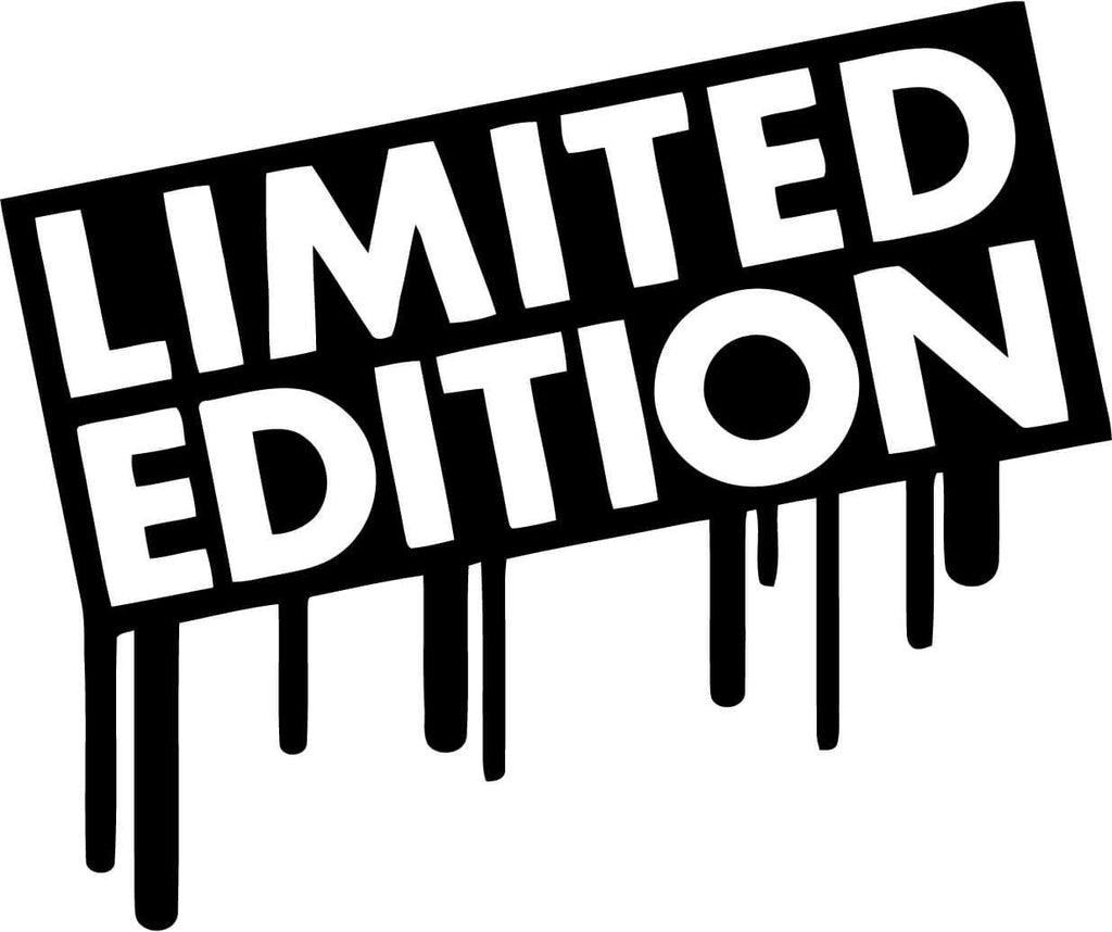 Limited Edition Vinyl Car Window Laptop Decal Sticker