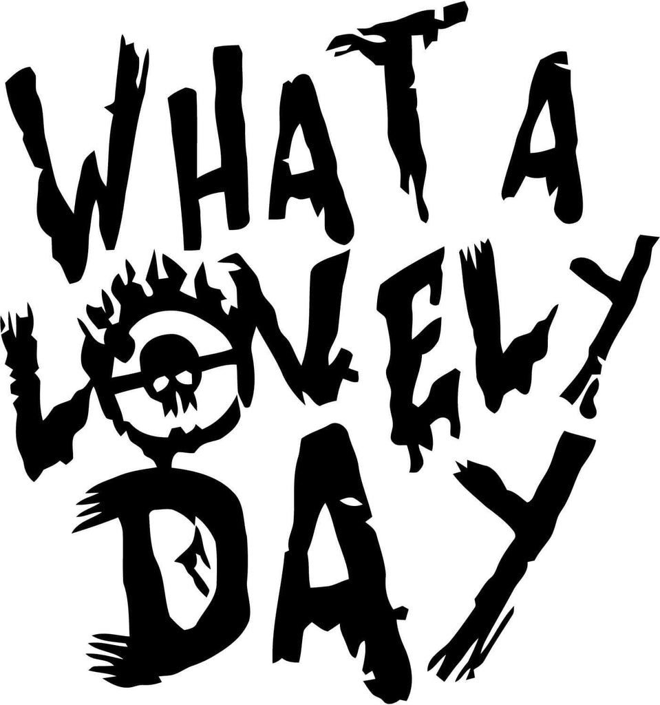 Mad Max Fury Road What a Lovely Day Vinyl Car Window Laptop Decal Sticker