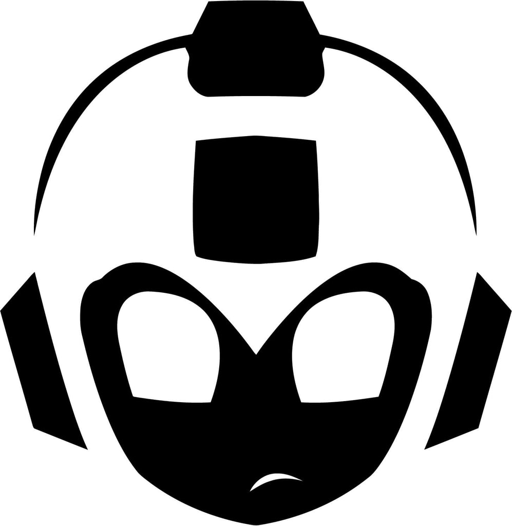 Mega Man Simplified Vinyl Car Window Laptop Decal Sticker