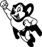 Mighty Mouse Vinyl Car Window Laptop Decal Sticker