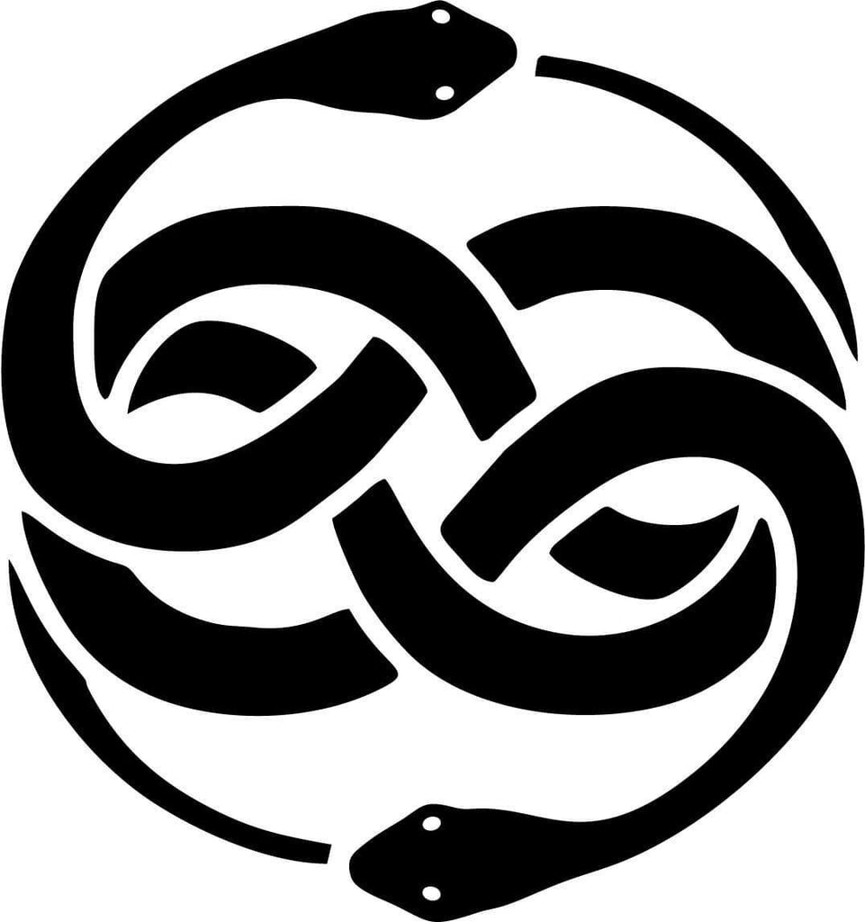 Neverending Story Auryn - Vinyl Car Window and Laptop Decal Sticker - Decal - Car and Laptop Window Decal Sticker - 1