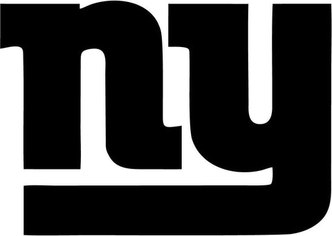 New York Giants Logo - Vinyl Car Window and Laptop Decal Sticker