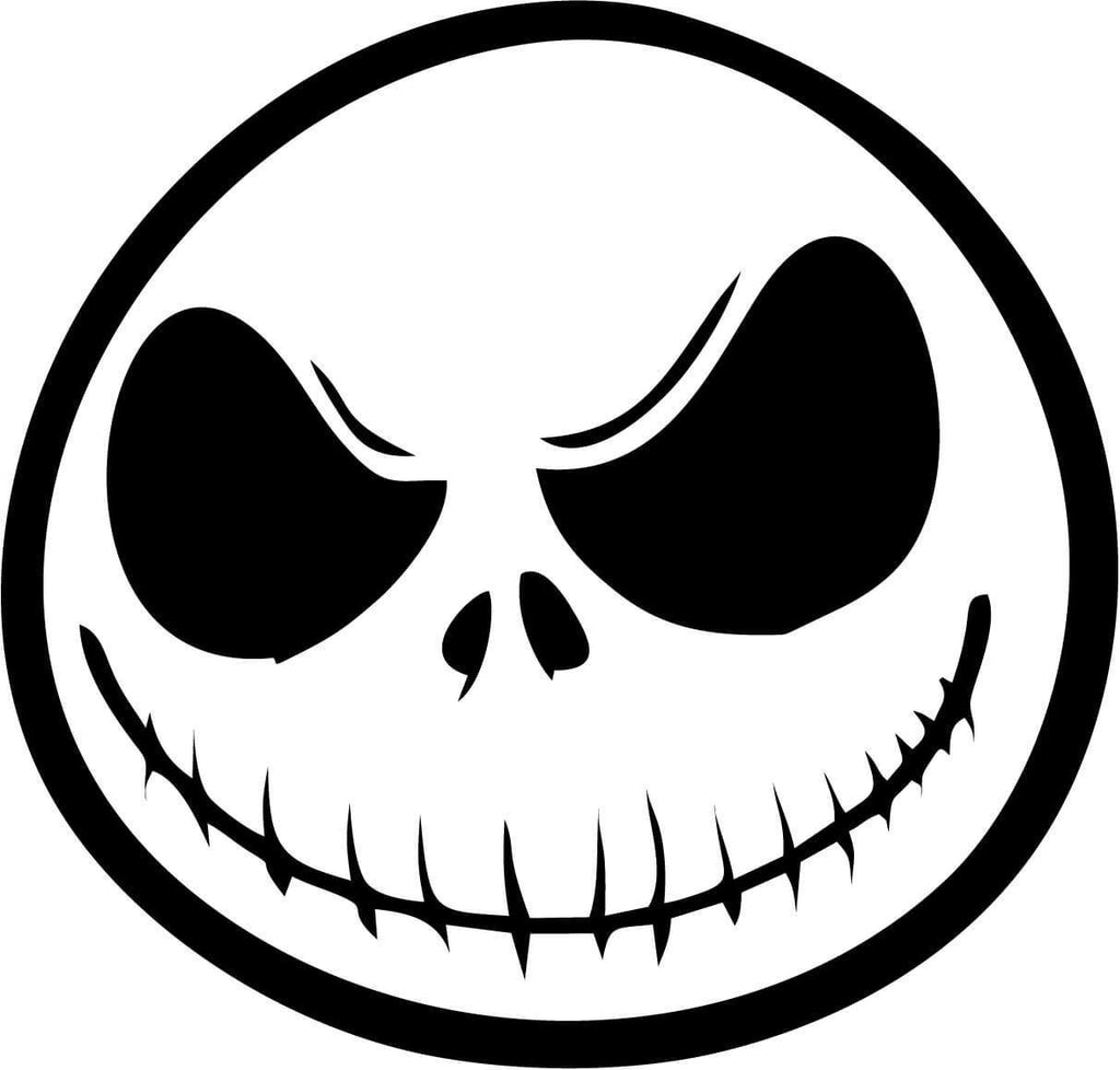 Nightmare Before Christmas Vinyl Car Window Laptop Decal Sticker ...