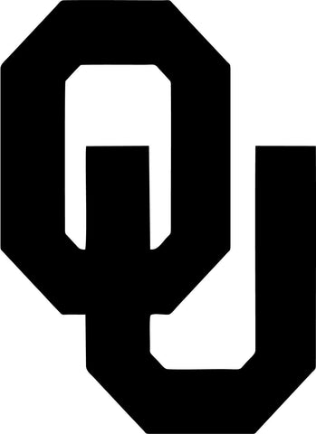Oklahoma Sooners Vinyl Car Window Laptop Decal Sticker