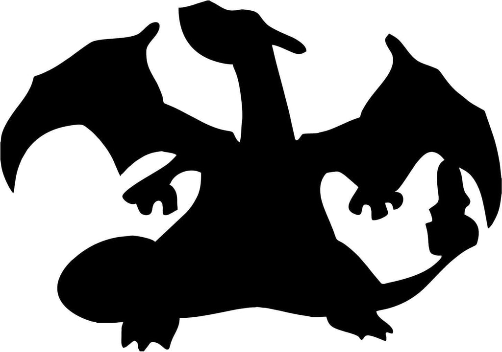 Pokemon - Charizard - Vinyl Car Window and Laptop Decal Sticker - Decal - Car and Laptop Window Decal Sticker - 1