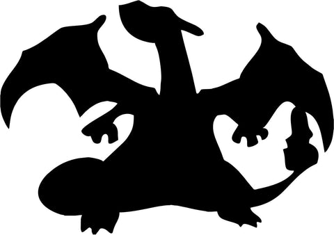 Pokemon - Charizard - Vinyl Car Window and Laptop Decal Sticker