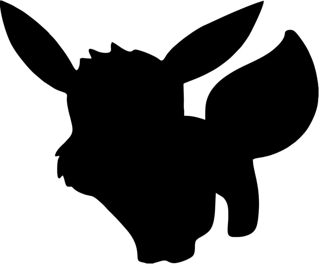 Pokemon - Eevee - Vinyl Car Window and Laptop Decal Sticker - Decal - Car and Laptop Window Decal Sticker - 1