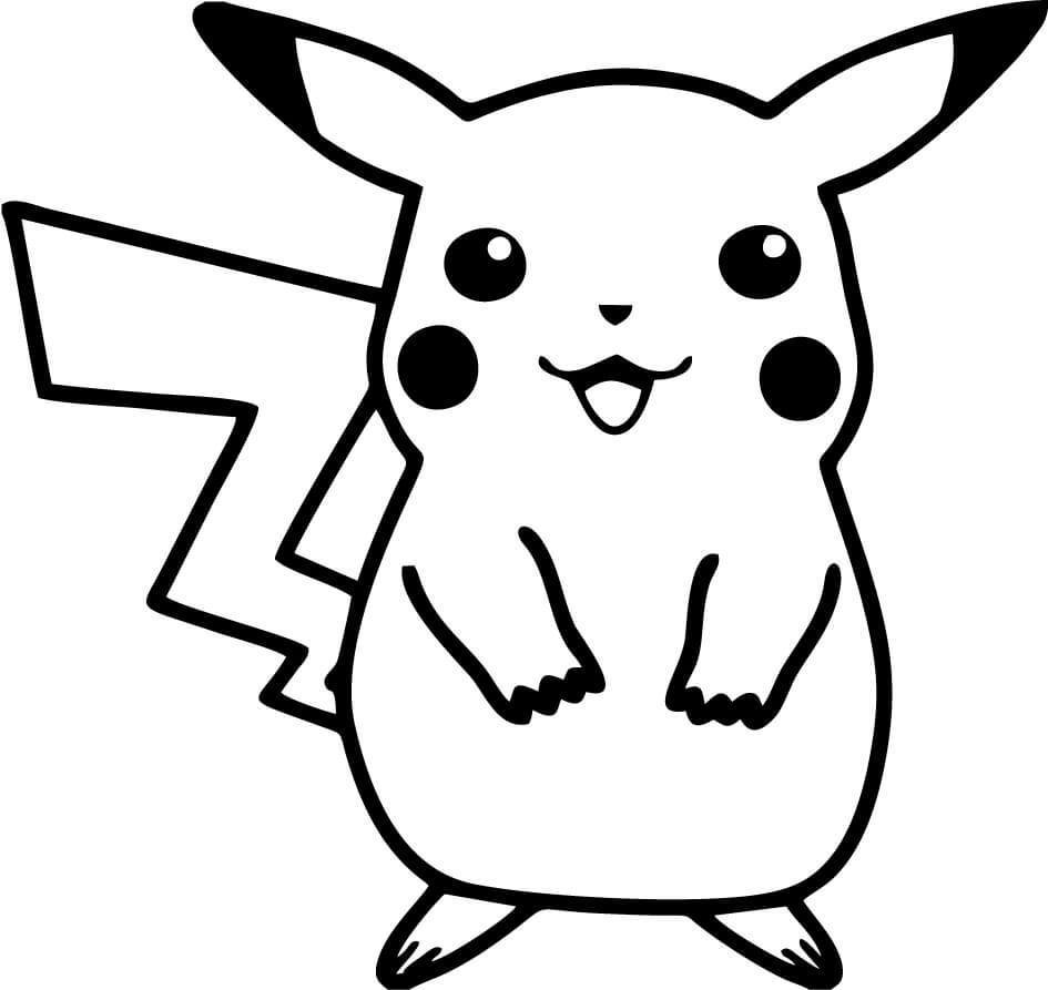 Pokemon Pichachu Vinyl Car Window Laptop Decal Sticker