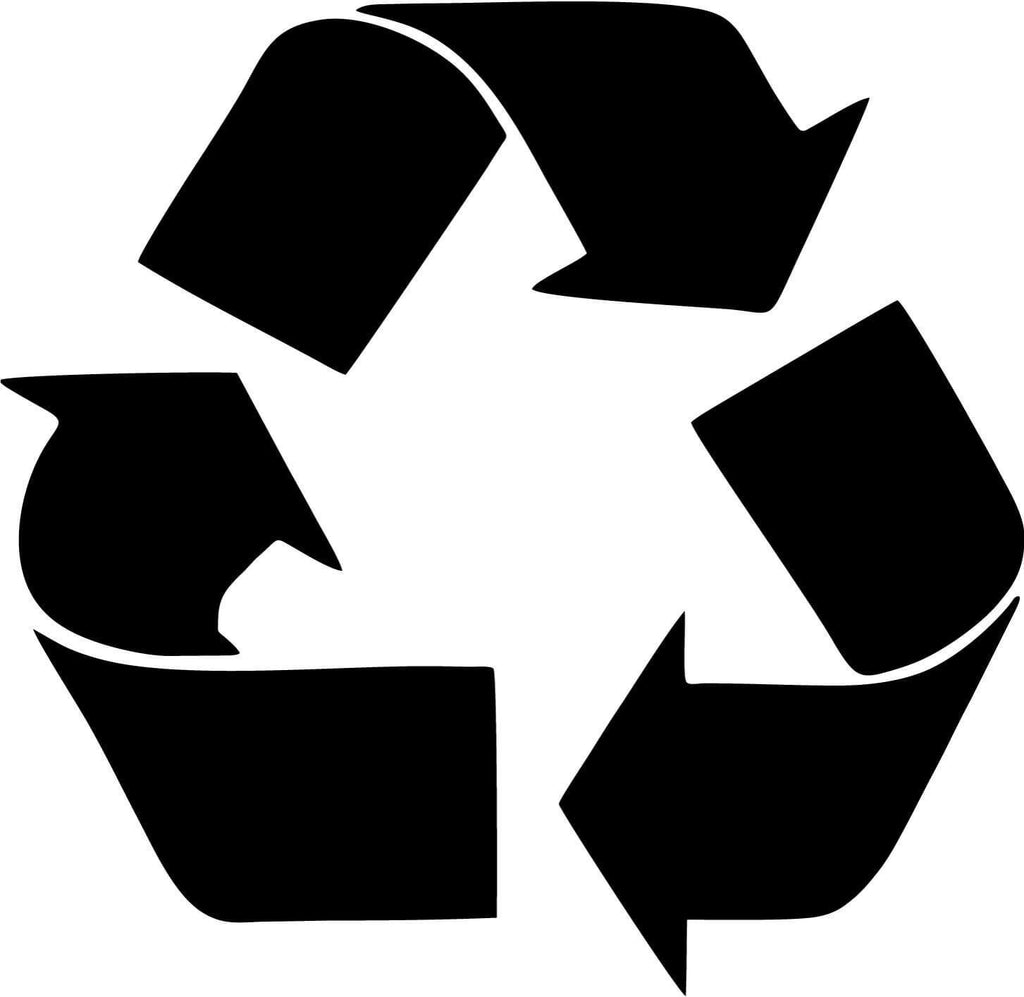 Recycle Logo - Vinyl Car Window and Laptop Decal Sticker - Decal - Car and Laptop Window Decal Sticker - 1