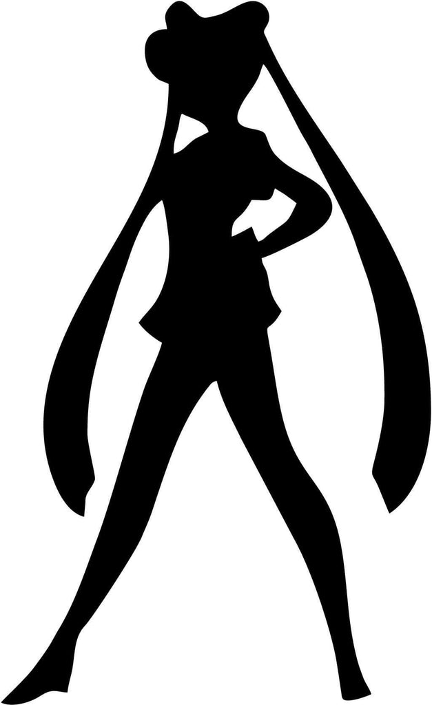 Sailor Moon - Serena - Vinyl Car Window and Laptop Decal Sticker - Decal - Car and Laptop Window Decal Sticker - 1