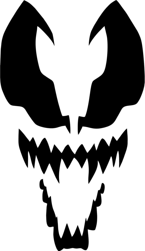 Spiderman - Venom - Vinyl Car Window and Laptop Decal Sticker - Decal - Car and Laptop Window Decal Sticker - 1
