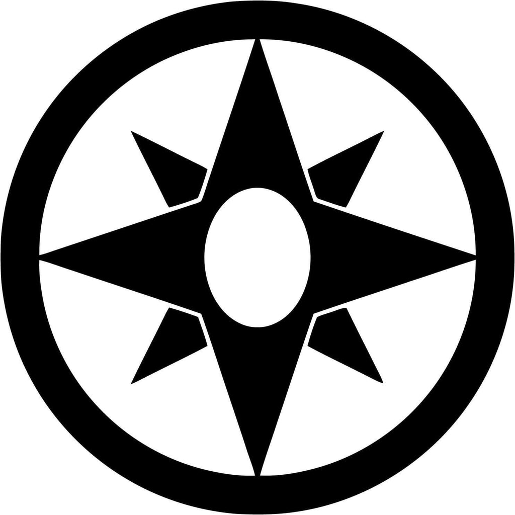 Star Sapphire Corps (Love) Emblem - Vinyl Car Window and Laptop Decal Sticker - Decal - Car and Laptop Window Decal Sticker - 1