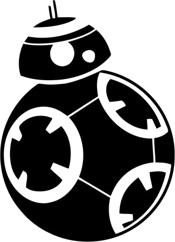 Star Wars - BB8 - Vinyl Car Window and Laptop Decal Sticker
