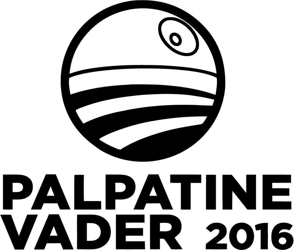 Star Wars Palpatine Vader 2016 Vinyl Car Window Laptop Decal Sticker