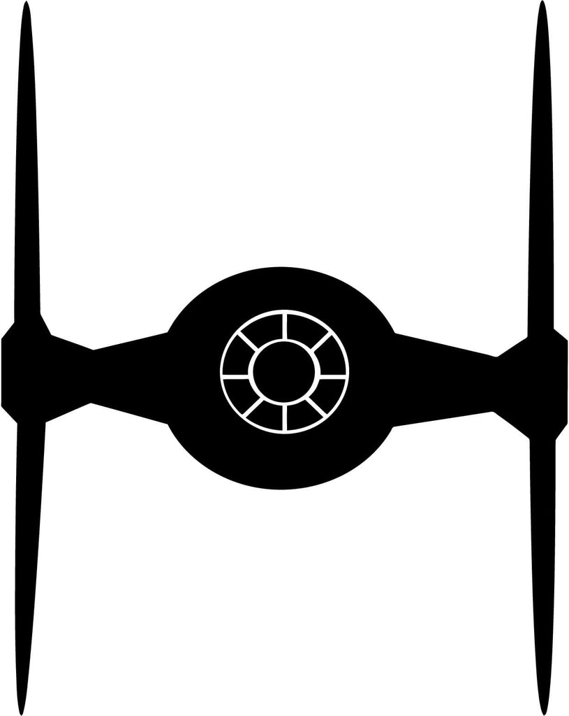 Star Wars Tie Fighter Vinyl Car Window Laptop Decal Sticker