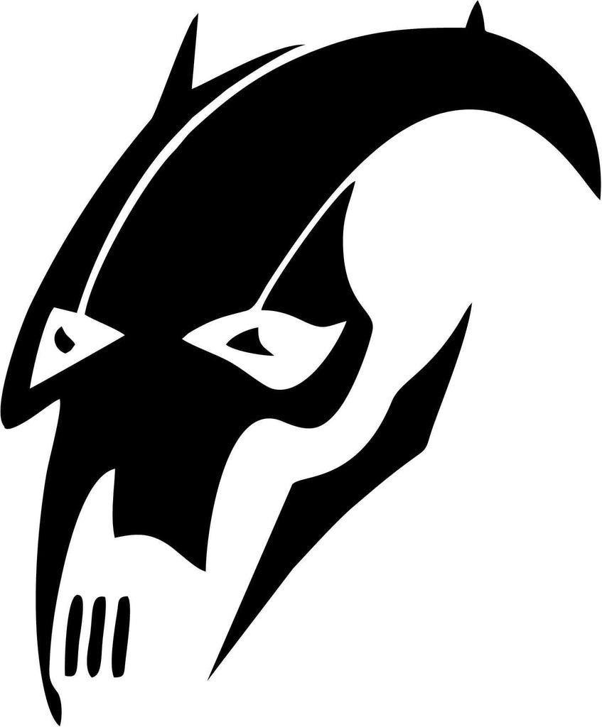 Star Wars General Grievous Vinyl Car Window Laptop Decal Sticker