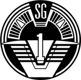 Stargate SG1 Insignia Vinyl Car Window Laptop Decal Sticker