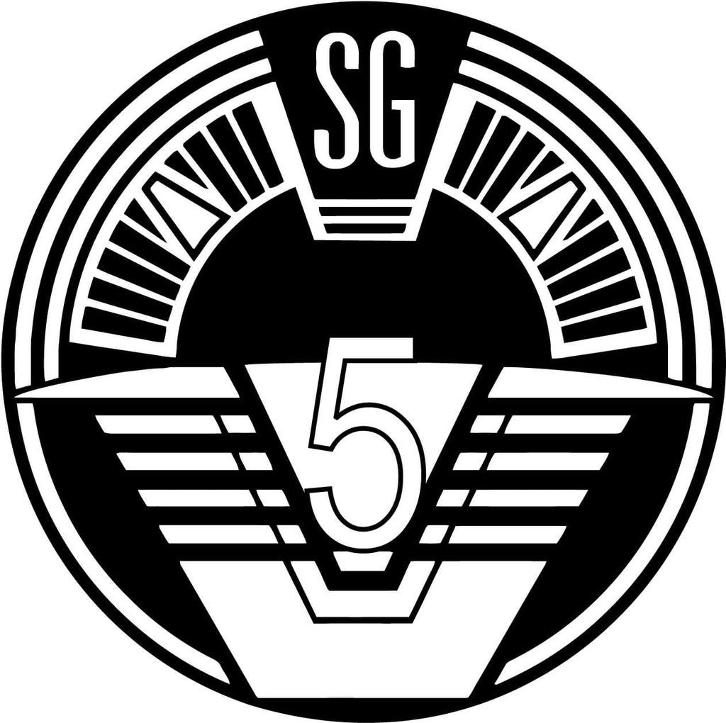 Stargate SG5 Insignia Vinyl Car Window Laptop Decal Sticker